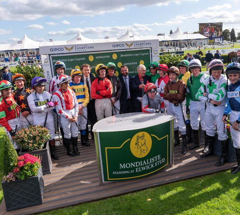 Leger Legend Jockeys at St Leger Festival 2019