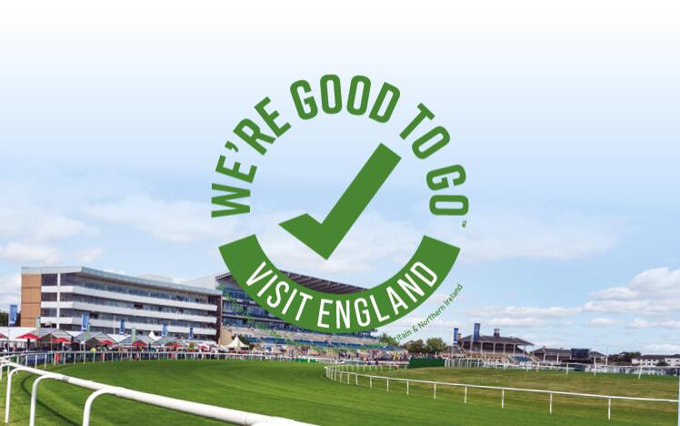 Doncaster Racecourse has successfully completed Visit England's UK-wide industry 'We're Good To Go' accreditation mark