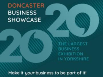 A promotional image for Doncaster Showcase 2020