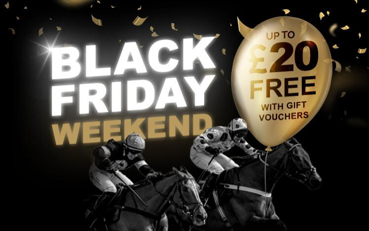Treat someone with a black friday gift voucher to enjoy live horse racing at Doncaster Racecourse. A unique Christmas present