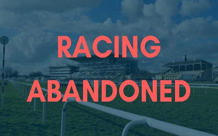 Racing abandoned notice image
