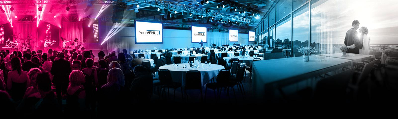 YourVENUE in association with Doncaster Racecourse. The ideal place for Business Meetings, Conferences & Events, and Weddings