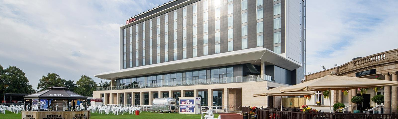 The Hilton Hotel at Doncaster Racecourse
